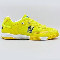 Обувь для футзала мужская Zelart OB-90202-YL размер 40-45 желтый