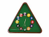 Часы треугольник Пул