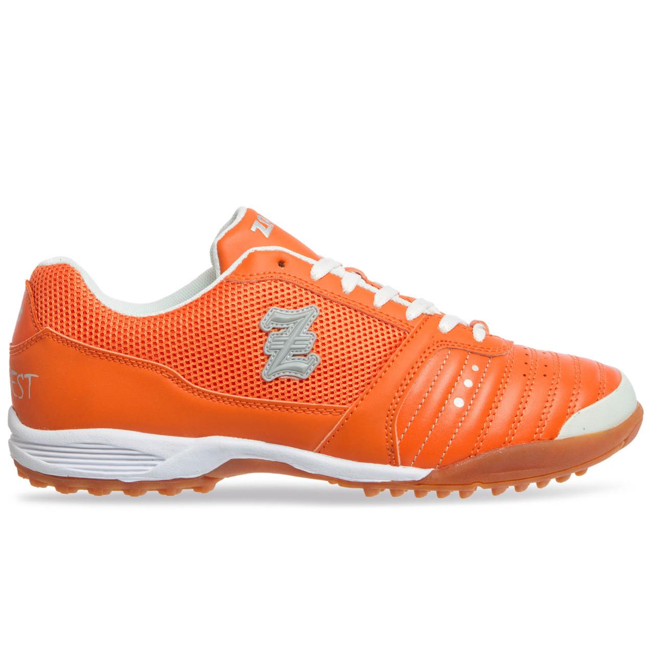 Сороконожки обувь футбольная Zelart OB-90204-OR размер 40-45 оранжевый