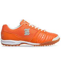Сороконожки обувь футбольная Zelart OB-90204-OR размер 40-45 оранжевый, фото 1