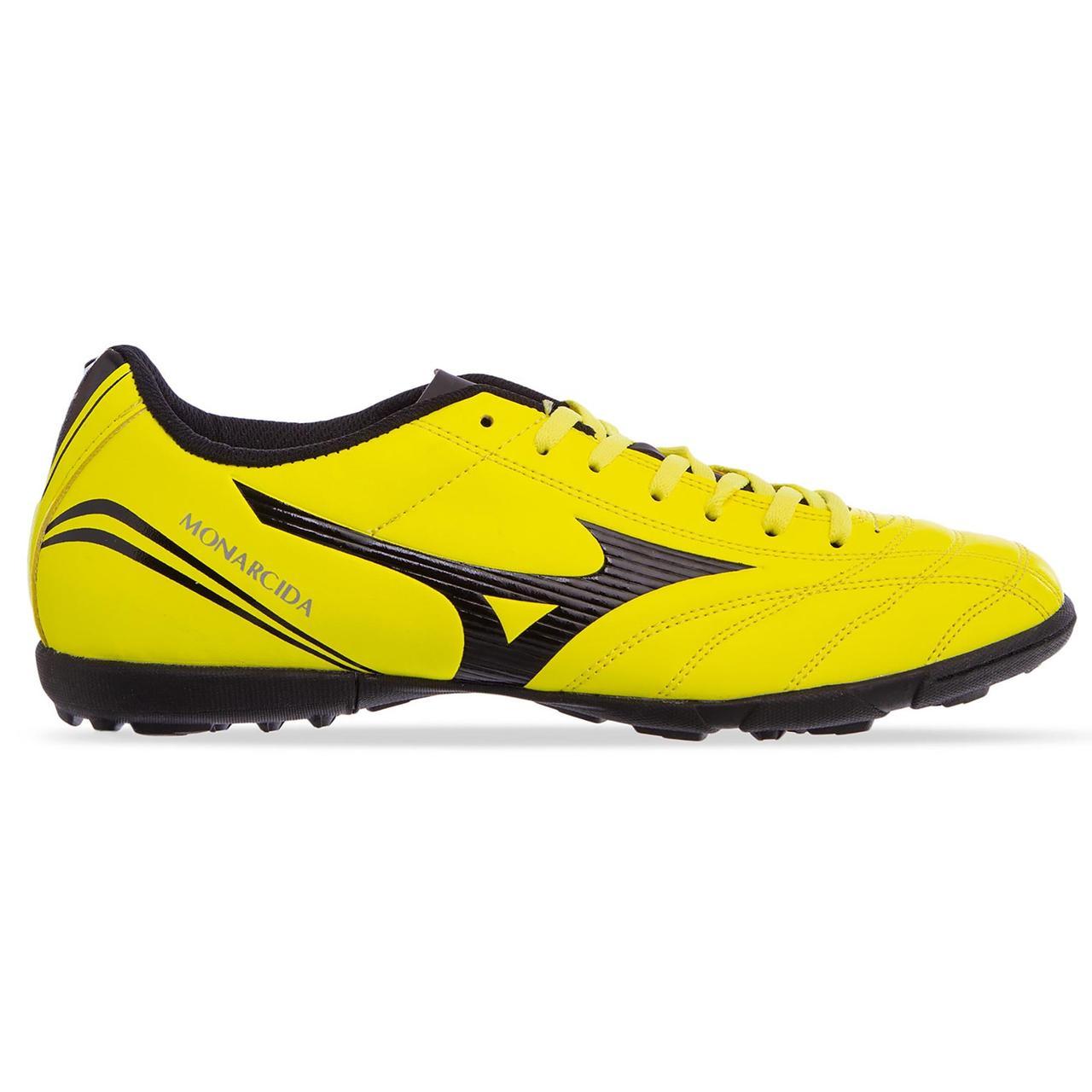 Сороконожки обувь футбольная MIZUNO OB-0832-Y размер 41-45 салатовый-черный