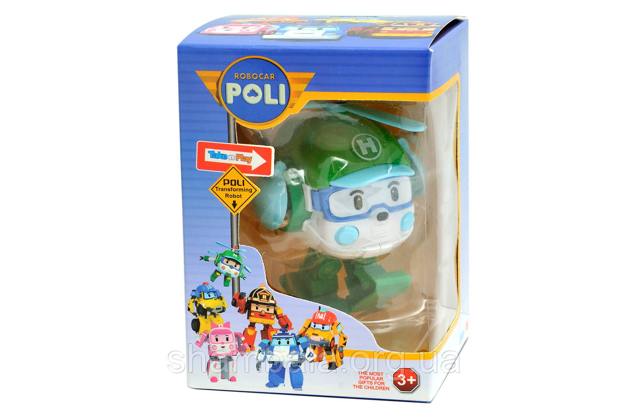 "Робот Play and fun ""Poli Robocar transforming"" вертолетик (073941)"