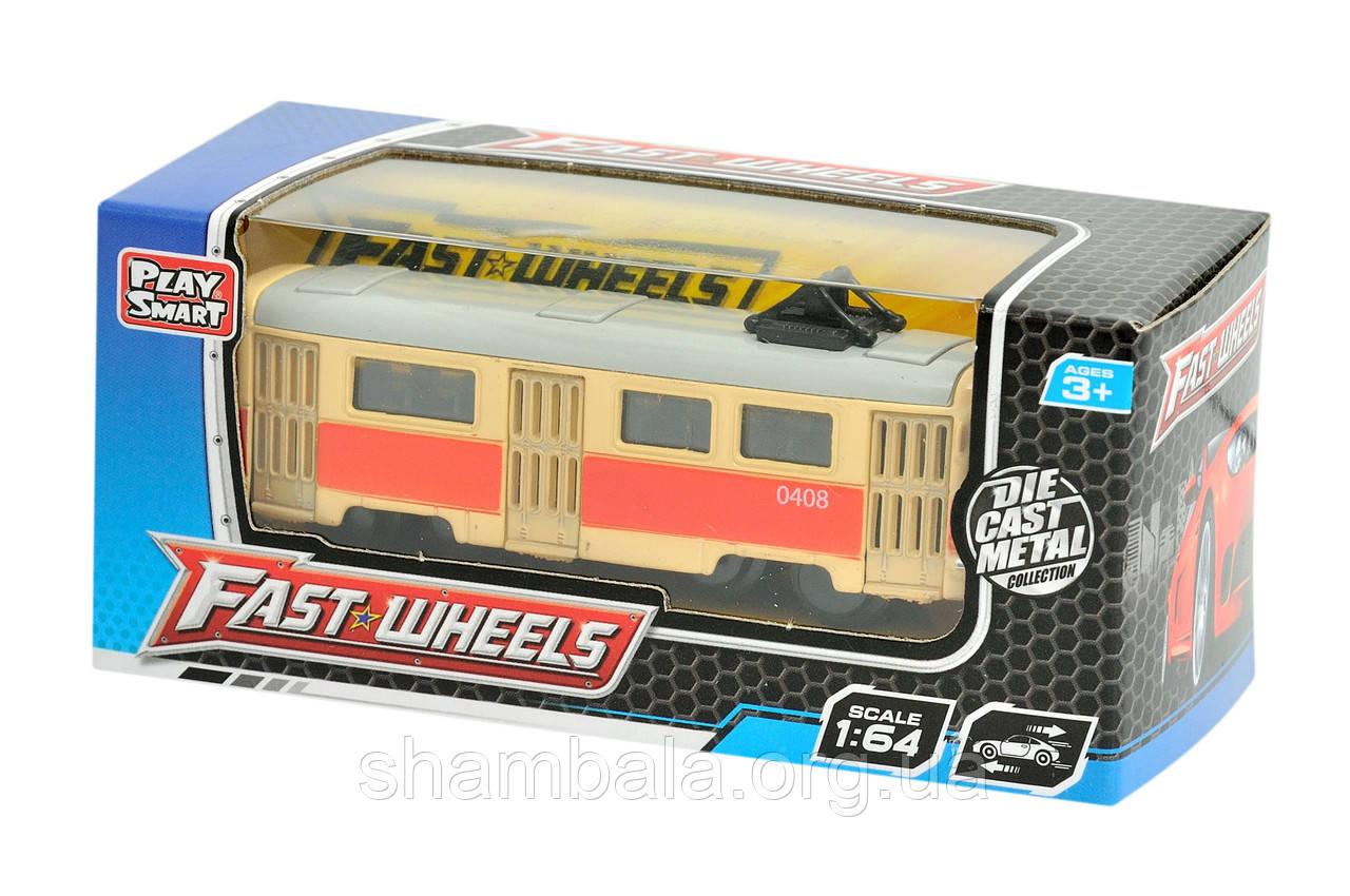"""Трамвай Toys """"Fast wheel 5"""" (064789)"""