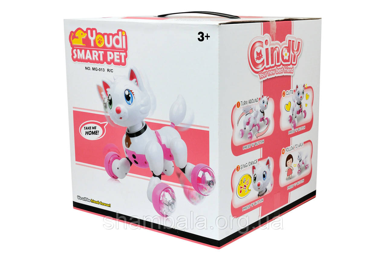 "Интерактивная игрушка Strawberry toys ""Умная кошка"" (069128)"