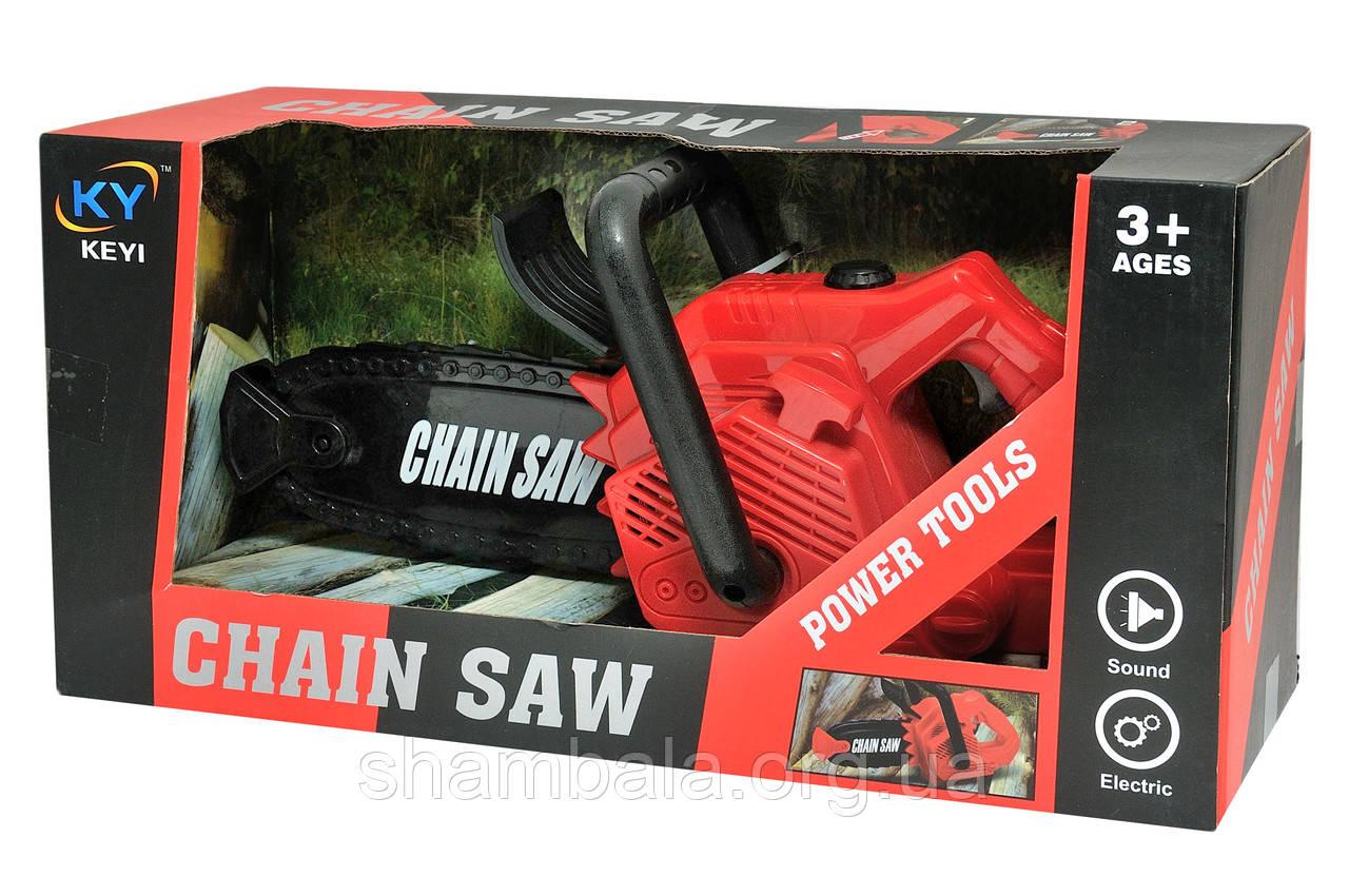 """Бензопила зі звуком KEYI """"Chain Saw"""" (066349)"""