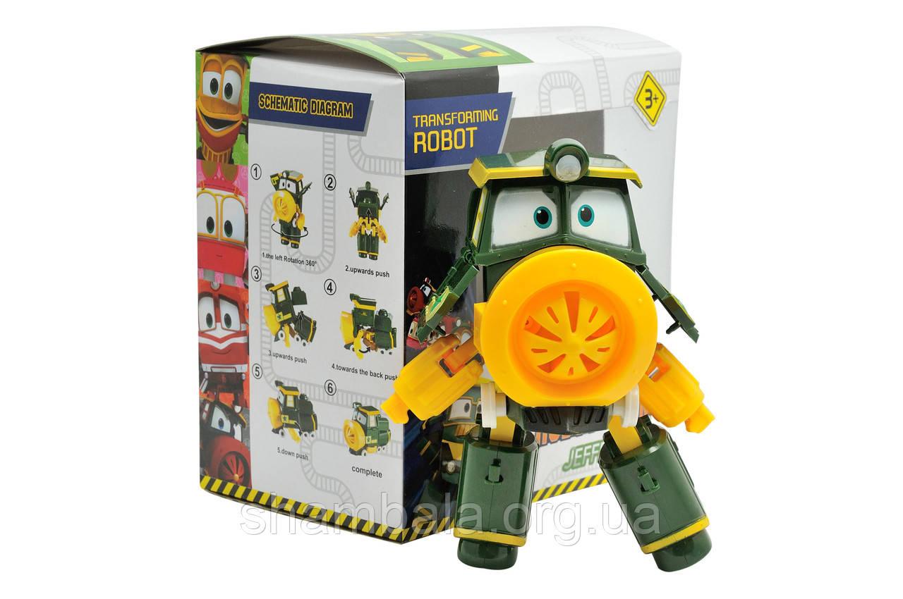"Робот Pingduo Star ""Robot trains - Jeffrey"" (074009)"