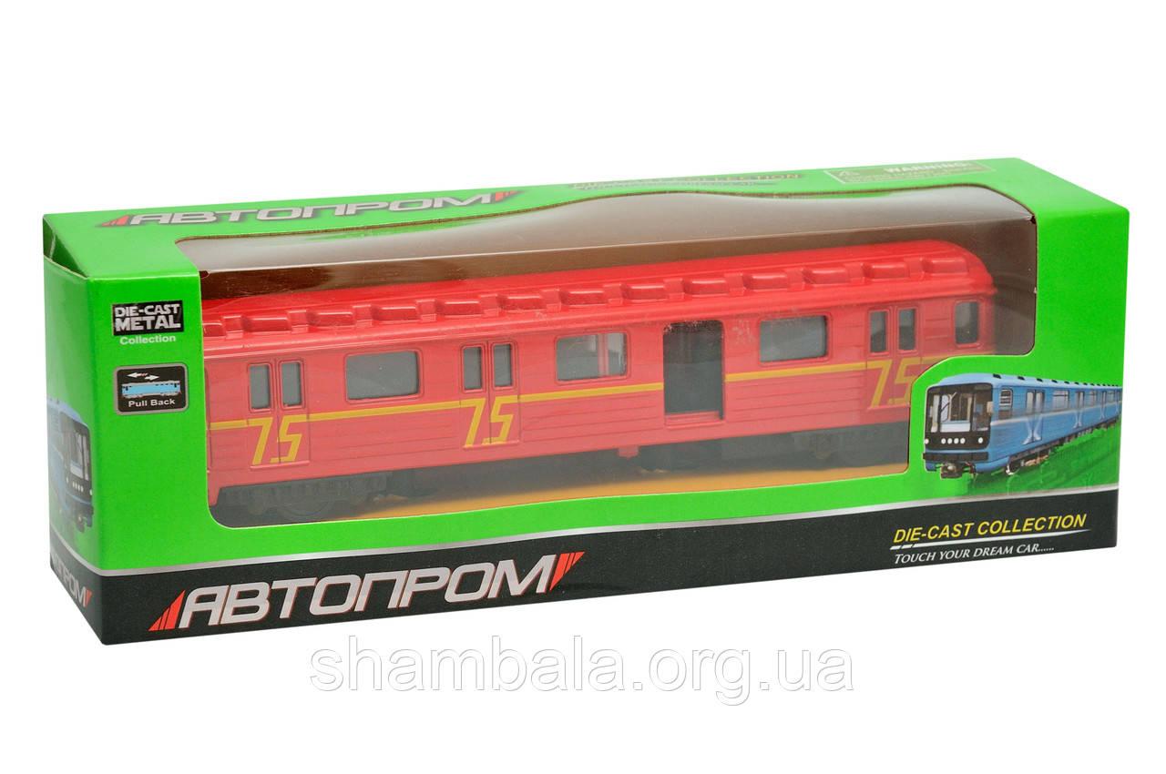 """Поезд  Автопром """"Conveyancer red"""" collection (063881)"""