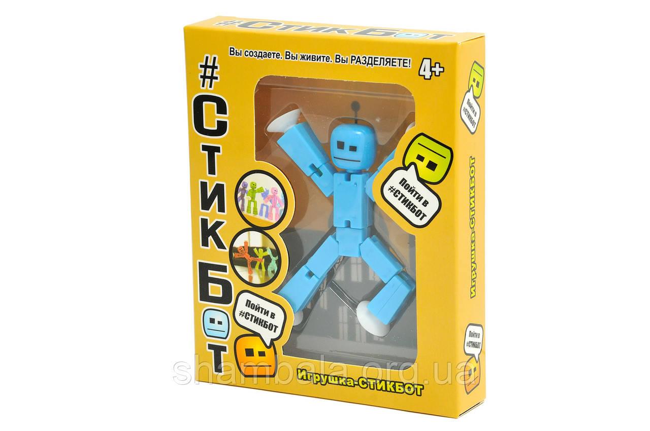 """Игрушка-стикбот DT Toys """"Стикбот"""" голубой (064079)"""