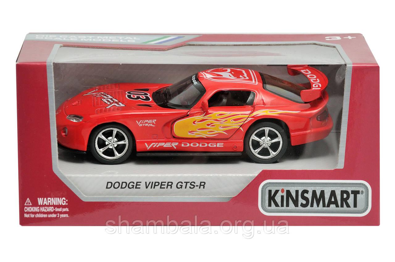 """Машина Kinsmart """"Dodge Viper GTS-R"""" (062204)"""
