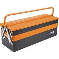 Ящик для инструментов Neo Tools металический, 555 мм (84-101)