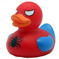 Игрушка для ванной LiLaLu Спайдермен утка (L1880)