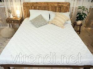Наматрацник з бортами Leleka-Textile 120х200 білий SKL53-240120