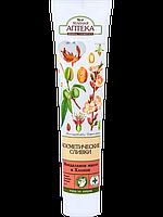 Косметические сливки демакияж с миндальным маслом и хлопком от ТМ Зеленая аптека, 125 мл