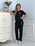 Турецкий черный спортивный костюм Zanardi, фото 3