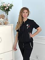 Турецкий черный спортивный костюм Zanardi