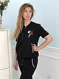 Турецкий черный спортивный костюм Zanardi, фото 5