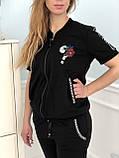 Турецкий черный спортивный костюм Zanardi, фото 2