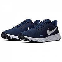 Кросівки Nike Nike Revolution 5 men's Running Shoe Navy/White Оригінал, фото 1