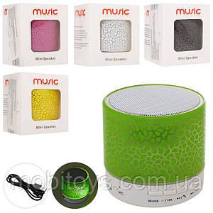 Портативная блютуз колонка с USB для телефонаMuzik Mini (смартфона, ноутбука) (MK 2686)