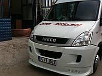 Накладка на передний бампер Iveco Daily 2006-2020