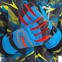 Перчатки горнолыжные теплые женские B-622 (р-р M-L, L-XL, уп.-12пар, цена за 1пару, цвета в ассортименте)