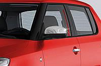 Seat Toledo 2012 Накладки не зеркала нерж.