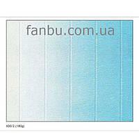 Креп бумага с переходом бело-голубая №600/2,производство Италия