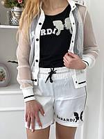 Турецкий черно белый прогулочный костюм Zanardi