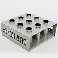 Подставка (стойка) для грифов вертикальная Zelart TA-8222 (металл, р-р44x44x16 cм)
