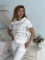 Турецкий белый спортивный костюм Philipp Plein