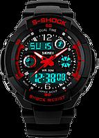 Спортивные часы Skmei 0931. Два циферблата, одонепроницаемые, ударопрочное стекло.