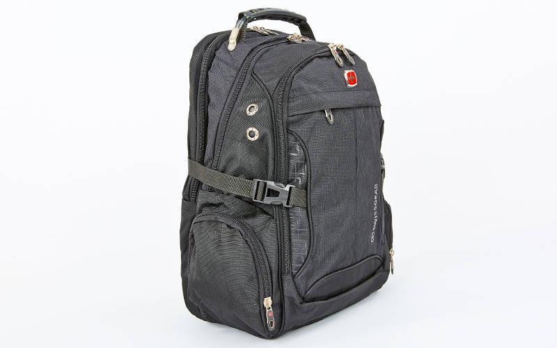 Рюкзак міський VICTOR 35л 7656 (PL, р-р 48х20х30см, чорний)