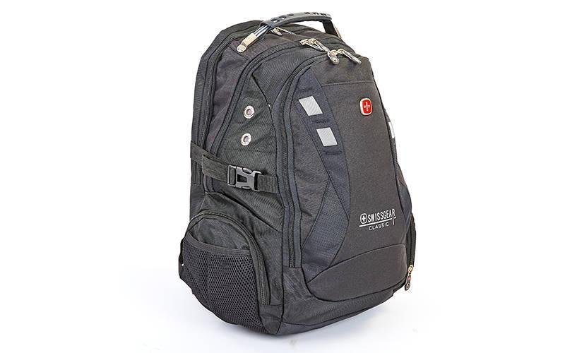Рюкзак міський VICTOR 35л 9371 (PL, р-р 48х31х19см, USB, кольори в асортименті)