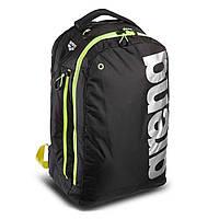 Рюкзак спортивний ARENA AR-1E359-50 FAST URBAN BACKPACK (поліестер, V-32л, р-р 20х50х30см, чорний-салатовий), фото 1