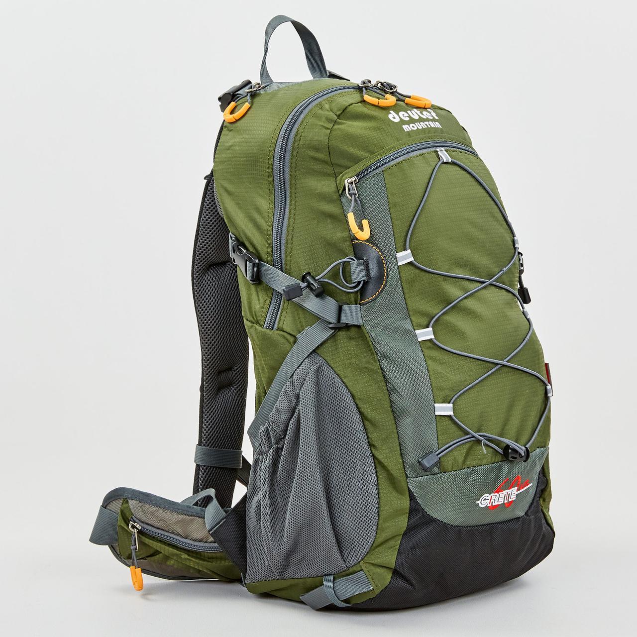 Рюкзак спортивный с каркасной спинкой DTR V-60л 8810-6 (нейлон, р-р 49х29х24см, цвета в ассортименте) - фото 1