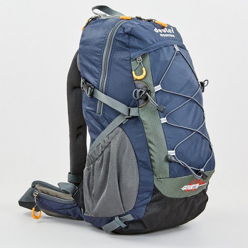 Рюкзак спортивный с каркасной спинкой DTR V-60л 8810-6 (нейлон, р-р 49х29х24см, цвета в ассортименте) - фото 3