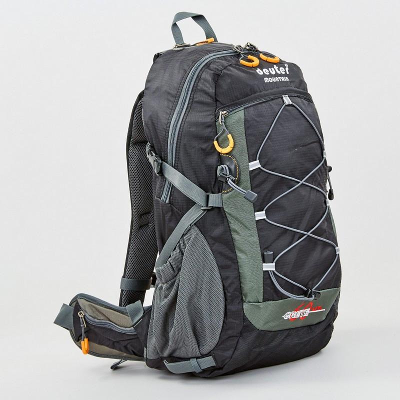 Рюкзак спортивный с каркасной спинкой DTR V-60л 8810-6 (нейлон, р-р 49х29х24см, цвета в ассортименте) - фото 4