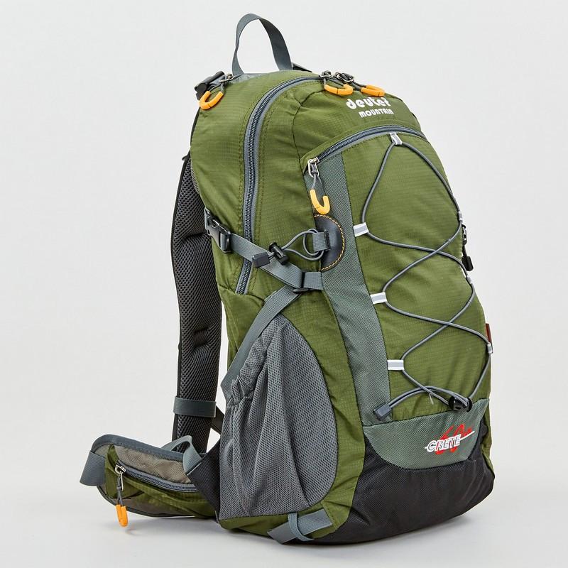 Рюкзак спортивный с каркасной спинкой DTR V-60л 8810-6 (нейлон, р-р 49х29х24см, цвета в ассортименте) - фото 5