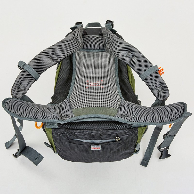 Рюкзак спортивный с каркасной спинкой DTR V-60л 8810-6 (нейлон, р-р 49х29х24см, цвета в ассортименте) - фото 9