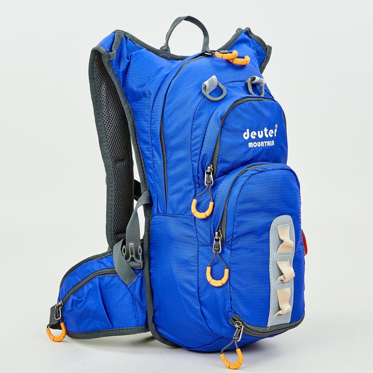 Рюкзак спортивный с жесткой спинкой DTR V-15л GA-802 (нейлон, р-р 43х20х15см, цвета в ассортименте)