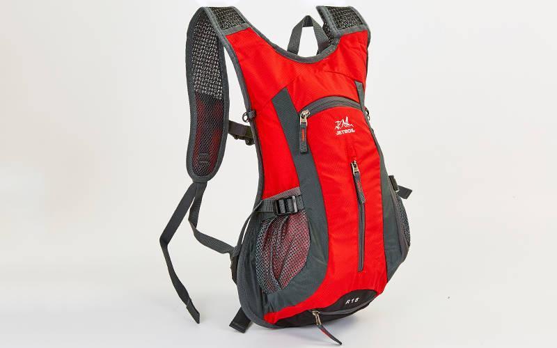 Рюкзак спортивный с жесткой спинкой GA-2081 (нейлон, р-р 31х8х43см, цвета в ассортименте)