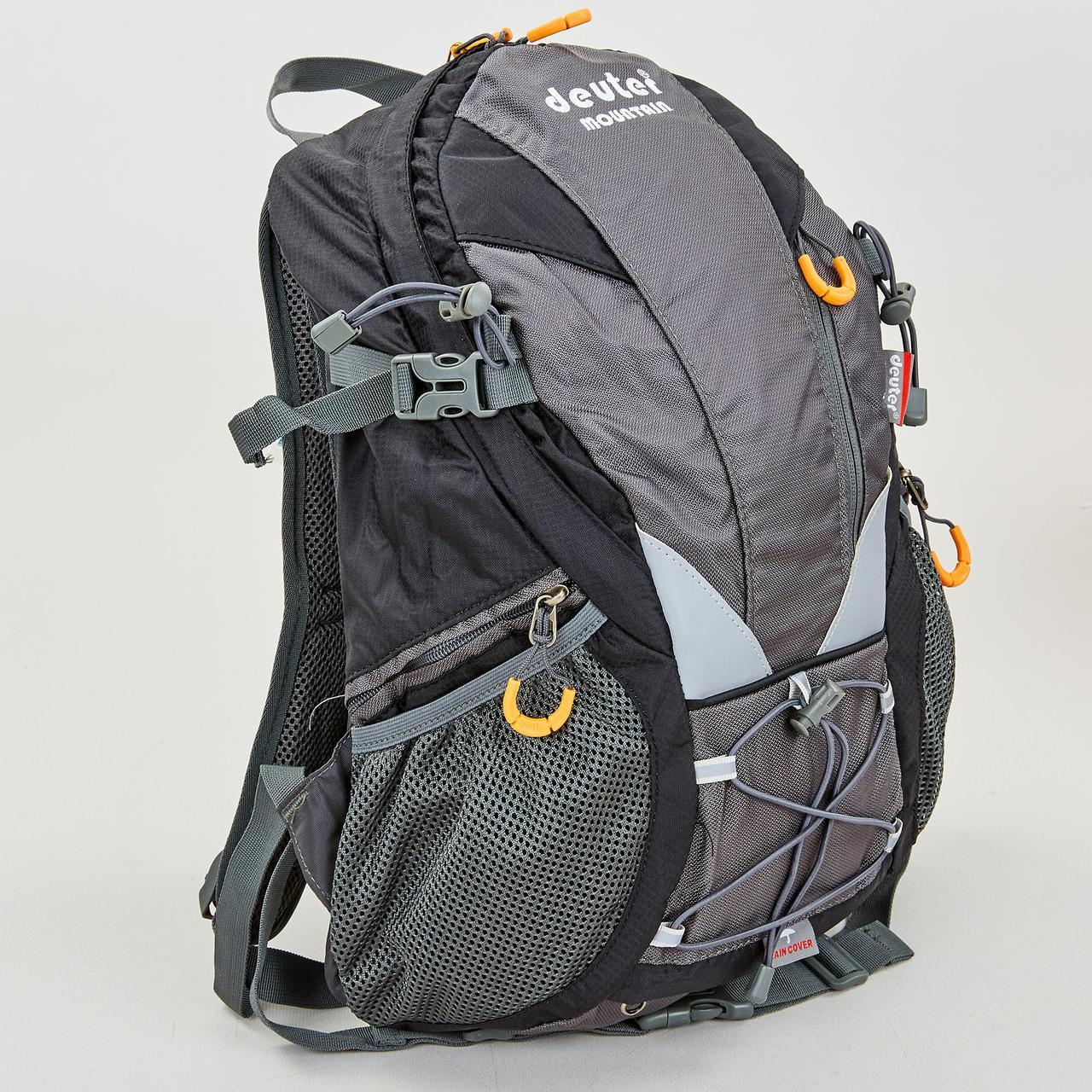 Рюкзак туристичний із каркасною спинкою DTR 30 літрів G28-1 (поліестер, нейлон, алюміній, розмір 38х34х15см,