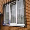 Решетки на окна Шир.770*Выс.1500мм