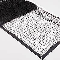 Сітка великий теніс NT-1251 (нейлон, р-р 12,8х1,08м, осередок 5х5см, з метал.тросом, чорний)