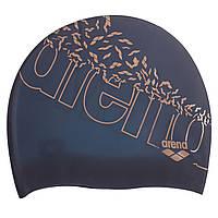 Шапочка для плавания ARENA PRINT 2 AR-1E368-10 (силикон, цвета в ассортименте)