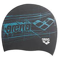 Шапочка для плавания ARENA PRINT AR-94168-30 (силикон, цвета в ассортименте)