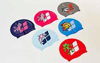 Шапочка для плавания детская ARENA MULTI JUNIOR CAP 06 AR-91233-20 (силикон, цвета в ассортименте)
