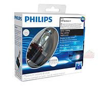 Philips X-treme Vision LED светодиодные лампы H8 / 6000K / комплект 2шт./ Бесплатная доставка!*