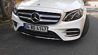 Mercedes W213 Накладки на противотуманки (нерж)
