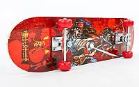 Скейтборд в зборі (роликова дошка) HB157 (колесо-PVC, р-р деки 78х20х1,2см, 608Z), фото 1